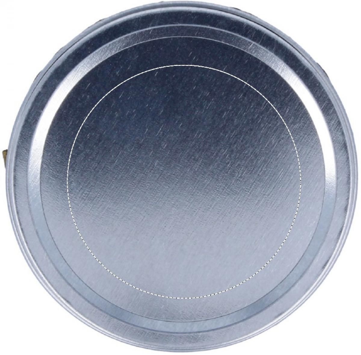 Geurkaars in blikje - Top of lid
