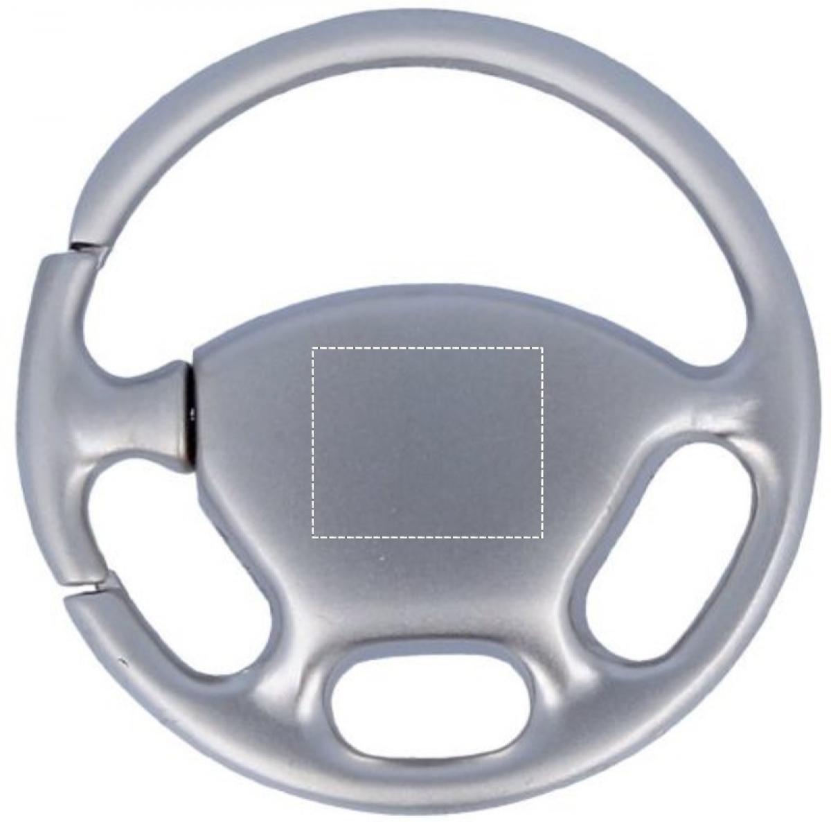 Sleutelhanger stuurwiel - Front