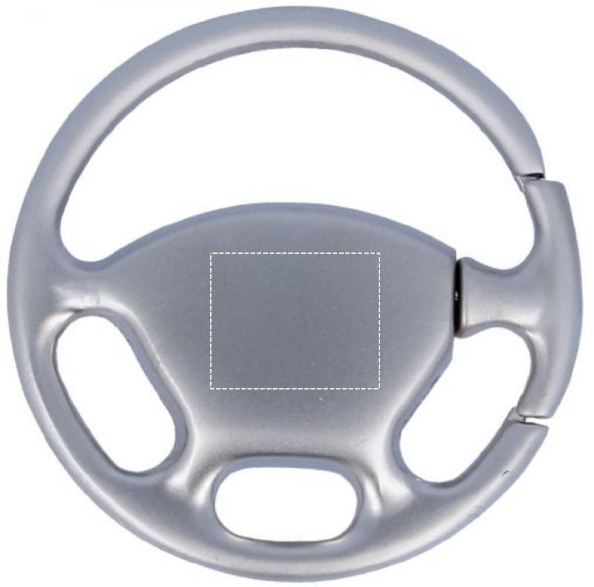 Sleutelhanger stuurwiel - Back