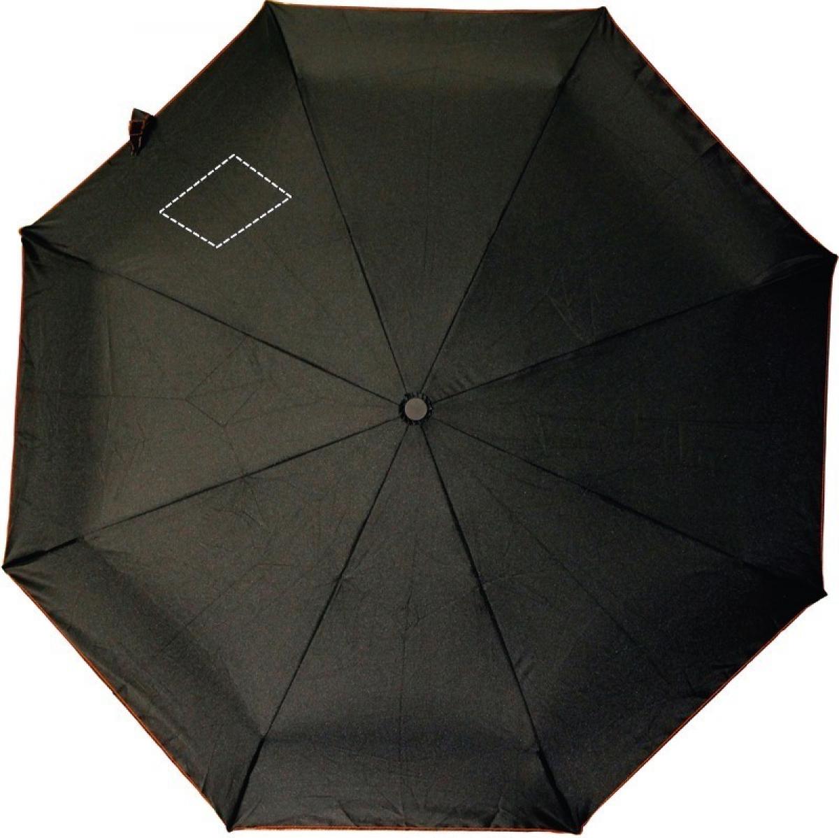 Skye foldable opvouwbare paraplu - Seg with fastener